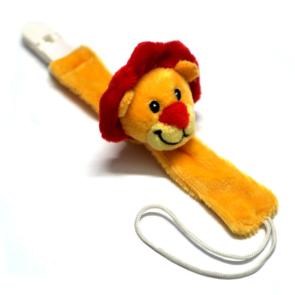 Cute Lion Baby Pacifier Clip