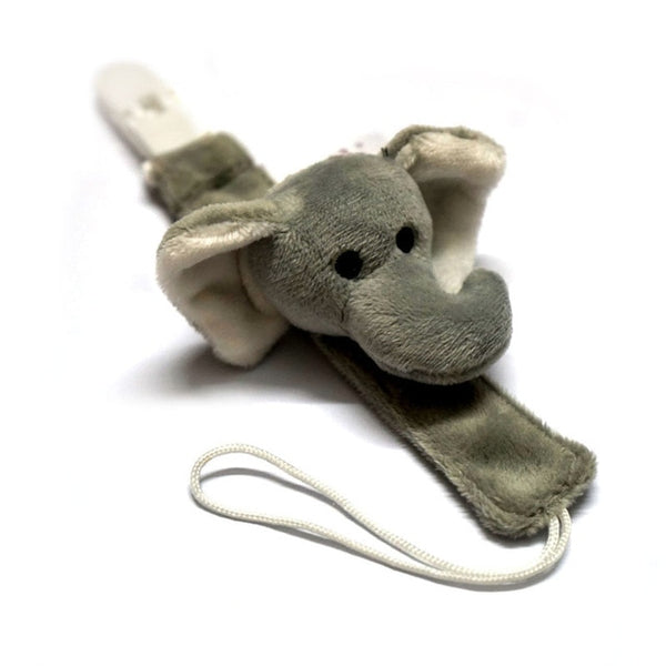 Cute Elephant Baby Pacifier Clip