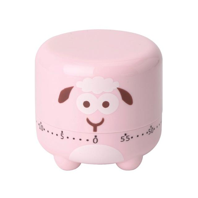 Adorable Sheep Mechanical Kitchen Timer