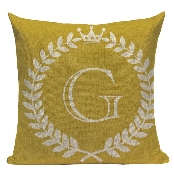 Colorful Letters - Decorative Cushion Cover Collection