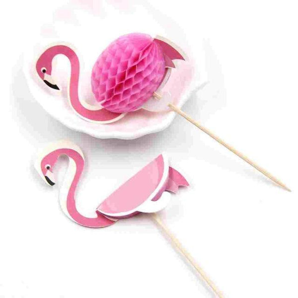 Pink Flamingo Toothpicks