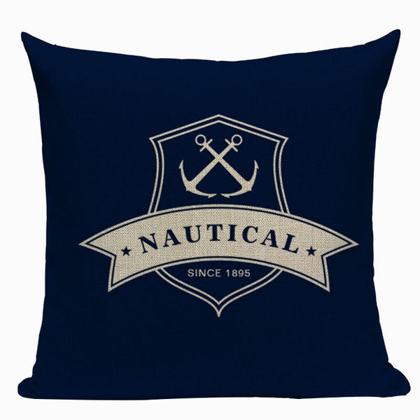 Sail Away - Nautical Decorative Cushion Cover Collection