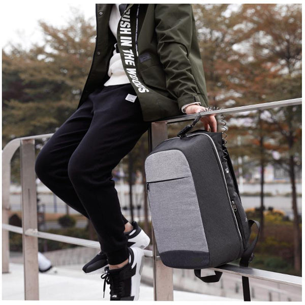 Stylish Anti-Theft Travel Laptop Backpack