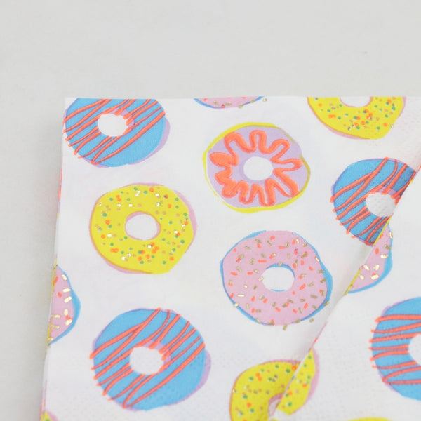 Donuts - Decorative Cocktail Paper Napkin