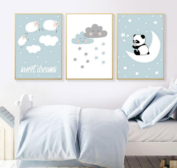 Sweet Dreams Canvas Wall Art