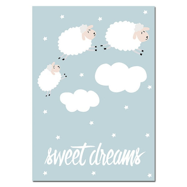 Sweet Dreams - Canvas Wall Art
