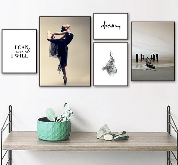 I Can And I Will Collection - Canvas Wall Art
