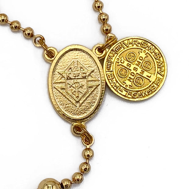 KC Combat Rosary™ - 24K Gold Plated