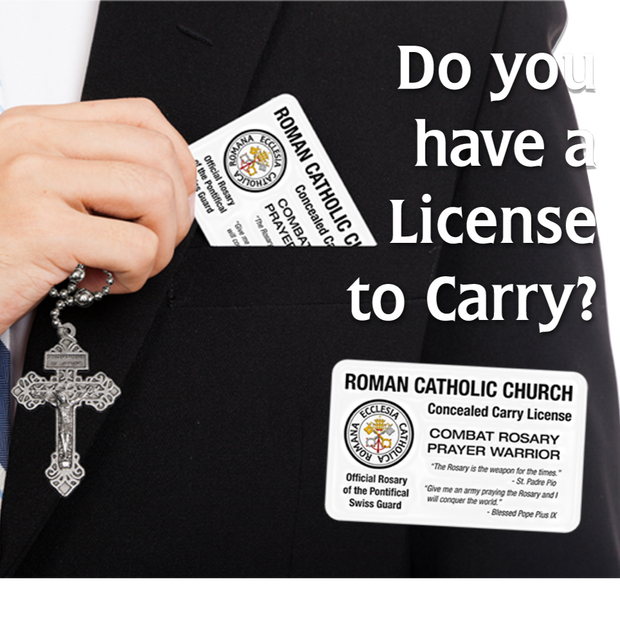 Concealed Carry Card - Roman Catholic Gear