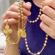 Combat Rosary™ - 24K Gold Plated