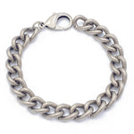 Men's Consecration Chain Bracelet - Antique Silver