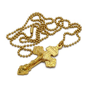 Pardon Crucifix Necklace