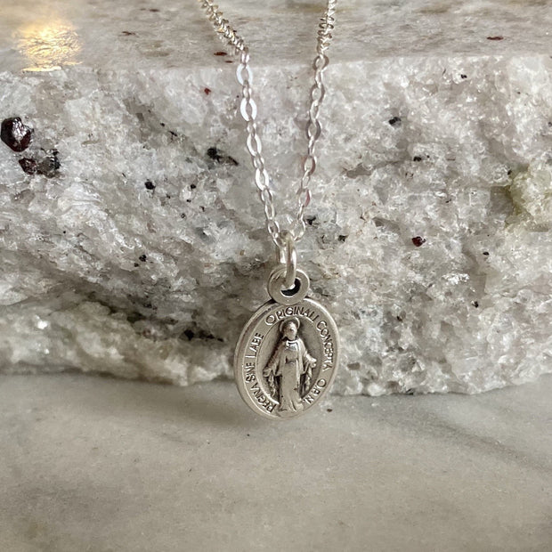 Miraculous Medal Necklace - Petite