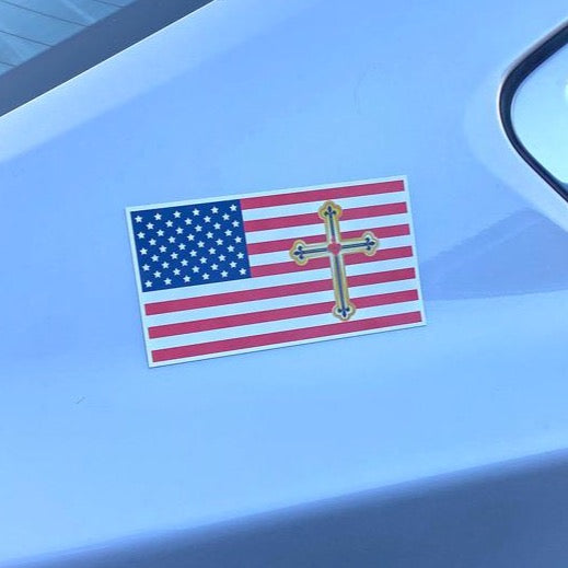 USGF™ Flag - Magnetic Decal