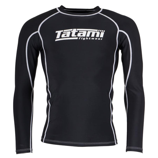 Standard Long Sleeve Rash Guard - Black