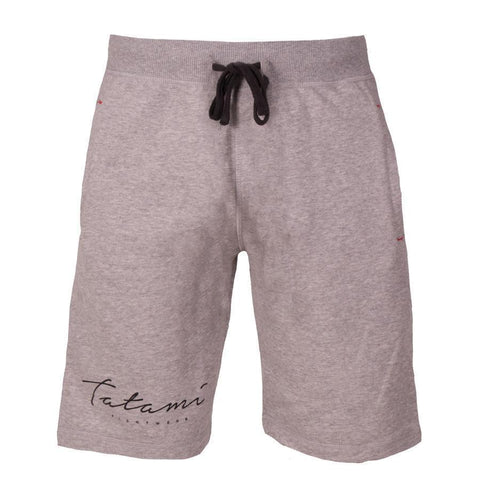 Script Grey Sweat Shorts