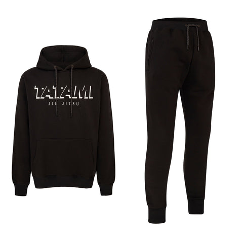 Shadow Tracksuit (Hoodie and Joggers) - Black