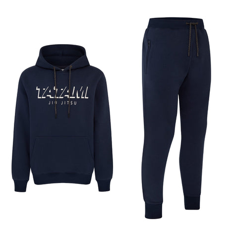 Shadow Tracksuit (Hoodie and Joggers) - Navy
