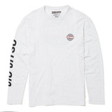 White Global Jiu Jitsu Long Sleeve T-Shirt
