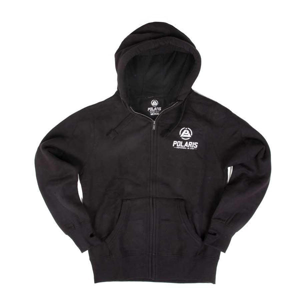 Polaris Black Zip Up Hoodie