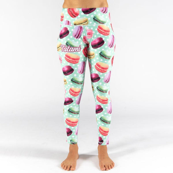 Ladies Macaroon Print Leggings