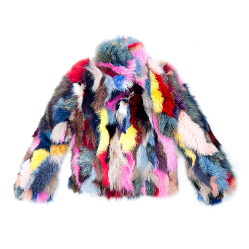 Rainbow Fox Jacket
