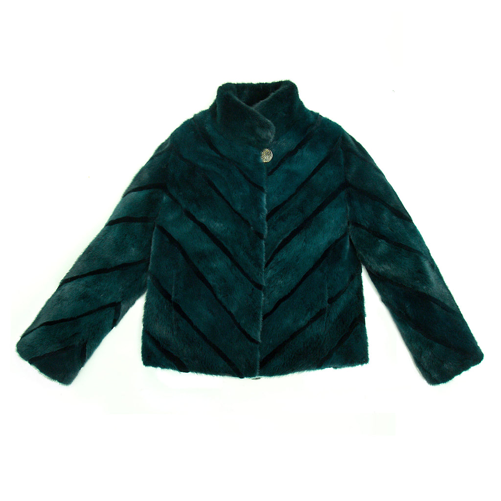 Winter Green Mink Jacket