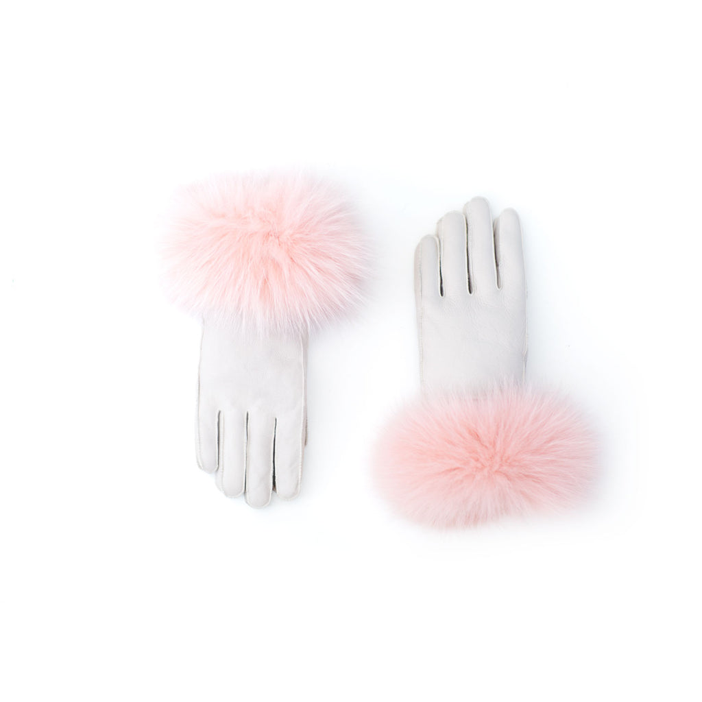 Fox Trim Gloves