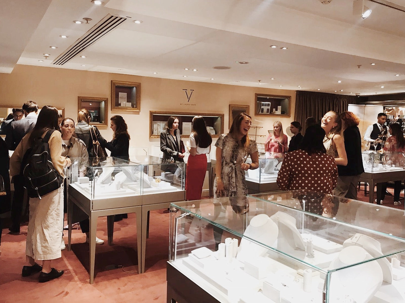OUR TRUNK SHOW AT FORTNUMS