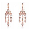 Rose Gold Lorelei Tassel Earrings
