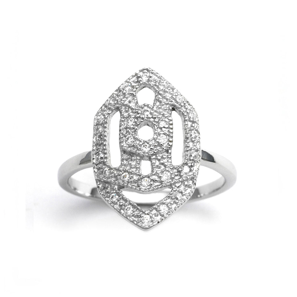 Interlock Silver Ring