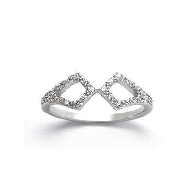 Touch Sterling Silver Ring
