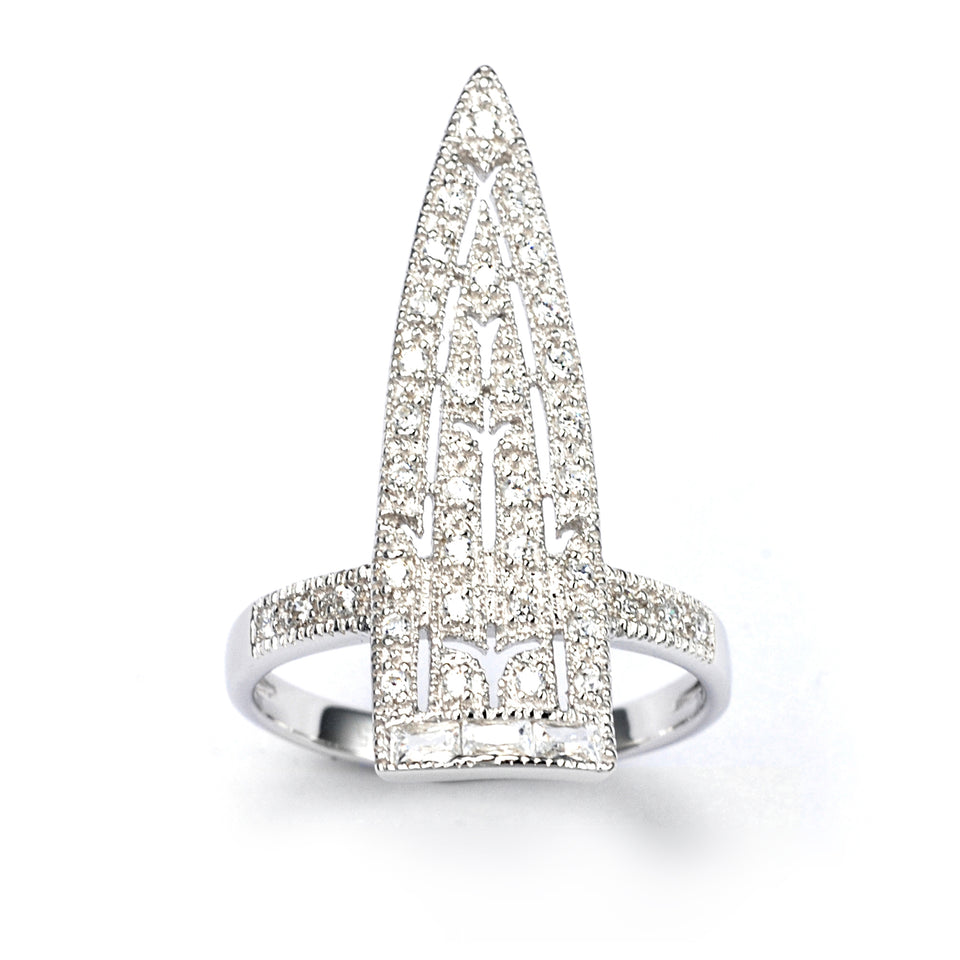 Sword Sterling Silver Ring