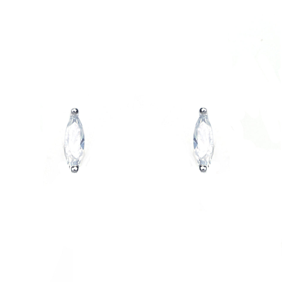 San Sterling Silver Stud Earrings