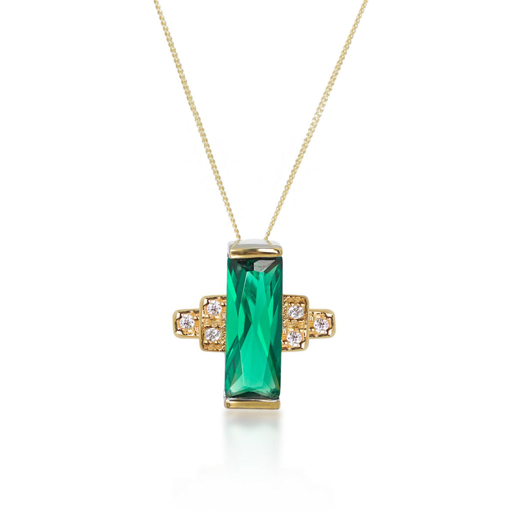 Audrey Green Necklace