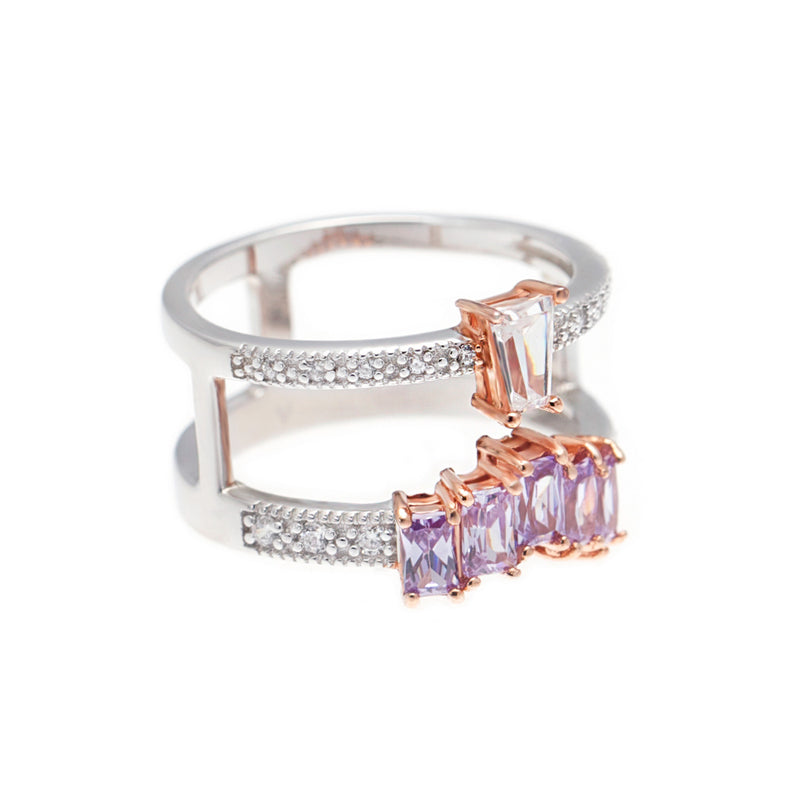 Brooke ring in lavender