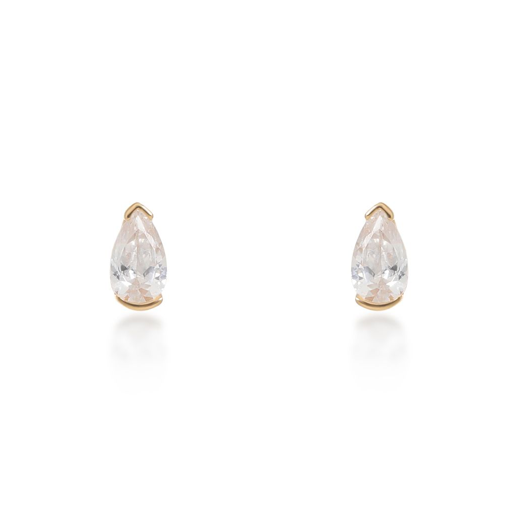 Evelyn Gold Stud Earrings
