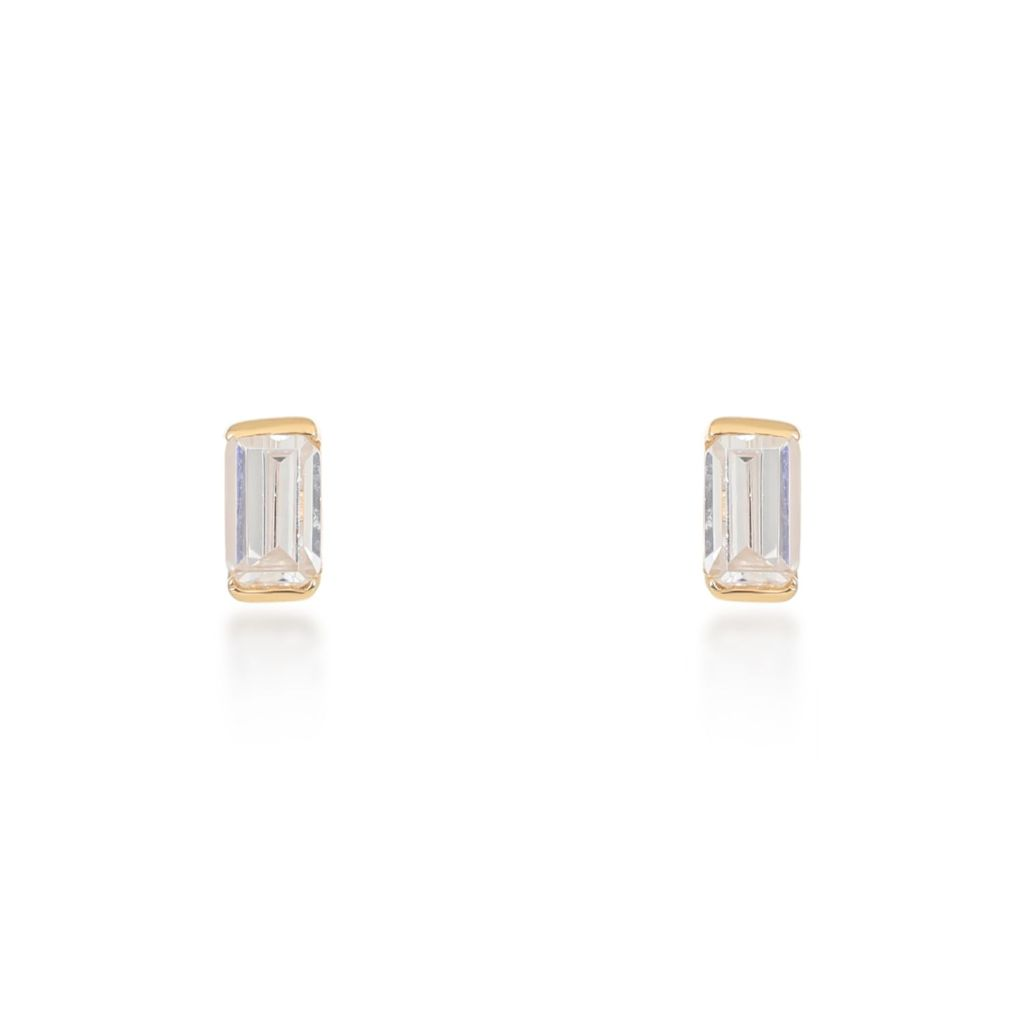 Allegra Gold Stud Earrings