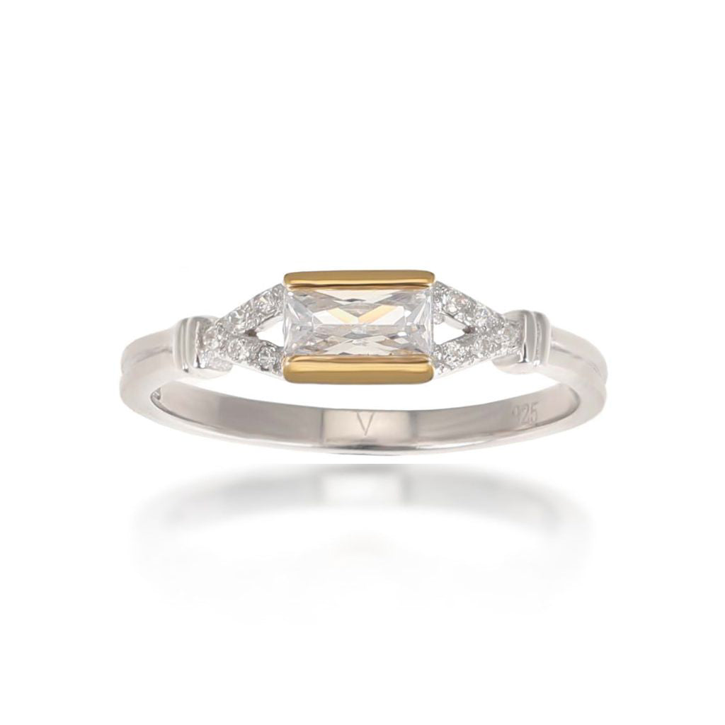Agata Gold Ring
