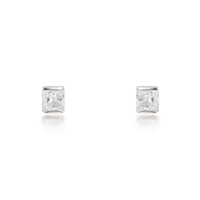 Portia Sterling Silver Stud Earrings