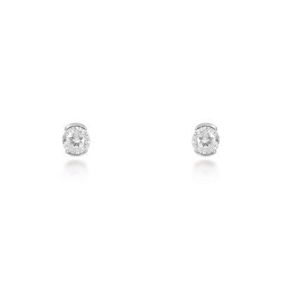 Ophelia Sterling Silver Stud Earrings