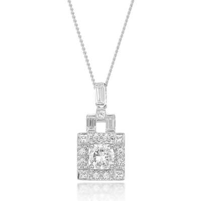 Odette Sterling Silver Necklace