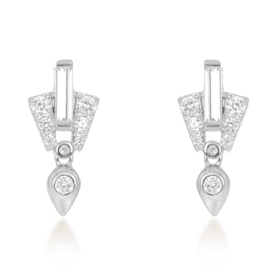 Aida Silver Drop Earrings