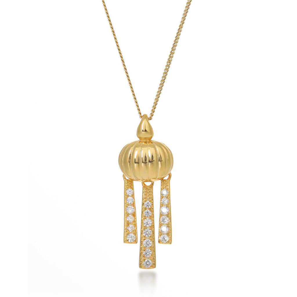 Priscilla Gold Necklace