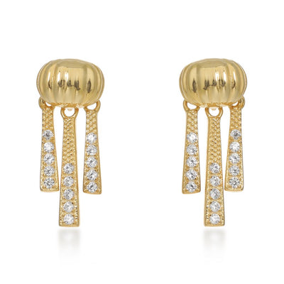 Priscilla Gold Earrings