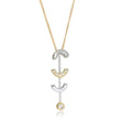 Attina Gold Drop Necklace