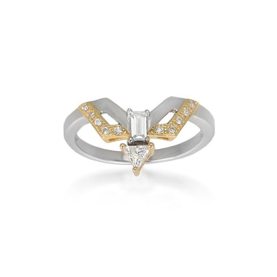 Pernille Gold Sterling Silver Ring