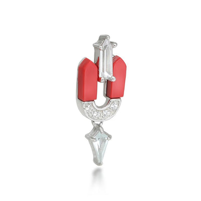 Leandra Quartz Sterling Silver Earrings
