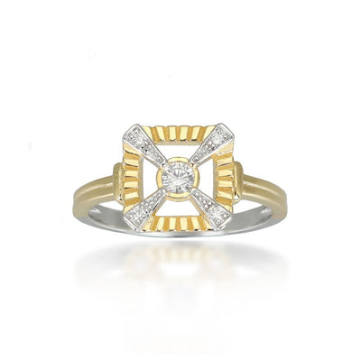 Eleanor Gold Ring
