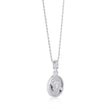Edie Silver Necklace on Rope Chain